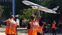 1,500 El Al workers held a mass protest against planned layoffs in the company on Sunday outside the Finance Ministry in Jerusalem.