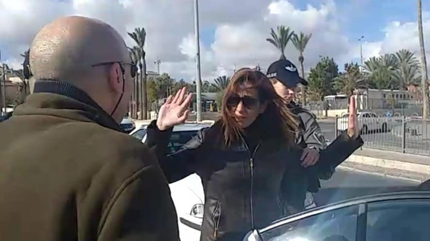 Israeli police arrest a Palestine TV crew in occupied East Jerusalem.