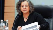 Former chair of the Knesset Committee on the Status of Women and Gender Equality, Hadash MK Aida Touma-Sliman.