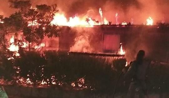 Fire at Neve Shalom, September 7, 2020