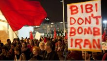 A 2012 demonstration in Tel Aviv's Habima Square