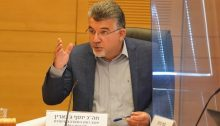 Hadash MK Youssef Jabareen (Joint List) chairs the meeting of the Knesset's Special Committee on the Rights of the Child, Tuesday, December 1, 2020.