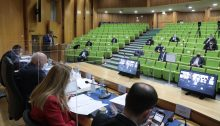 The Central Elections Committee convened in Jerusalem on Wednesday, February 17, to debate and vote on the disqualification petitions submitted by Otzma Yehudit aimed at delegitimizing Arab representation in Israel's Knesset.