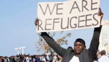 2017 demonstration of African refugees and asylum seekers in Tel Aviv