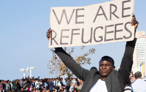 2017 demonstration of African refugees and asylum seekers in Tel Aviv
