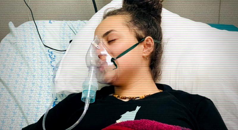 Janna Kiswani in hospital