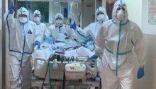 COVID-19 crew at Soroka Medical Center in Beer-Sheva