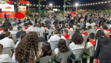 Hundreds attended the opening ceremony of the 28th Congress of the Communist Party of Israel held over three days in the Galilean city of Shefa'amer (Shfaram), October 7-9 2021.