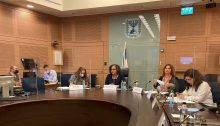 The Knesset's Committee on the Status of Women and Gender Equality convened on Wednesday, October 6, to discuss reports of sexual harassment and abuse of employees at Israel's Public Broadcasting Corporation, Kan.